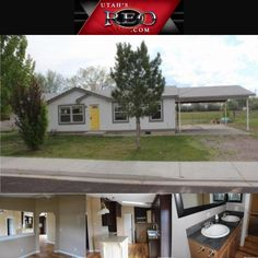 **PRICE REDUCED** 125 S 300 E, Cleveland, UT 84518  $72,900 What a beautiful home and a great deal in Cleveland! Open floor plan with 3 bedrooms and 2 full bathrooms. Formal living room could also be used as an office or formal dining room. Large back yard, great for entertaining! 2 stall carport! Hardwood flooring throughout! Beautiful granite counter tops!  See more at www.WyndellPasch.com/mls/1307714 or give us a call at 801-335-6970