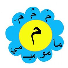 حرف Arabic Alphabet For Kids, Arabic Alphabet Letters, Preschool Learning Activities, Teaching Kids, Arabic Handwriting, Islam For Kids, Arabic Lessons, Teaching Methods, Kindergarten Class