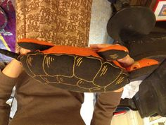 Have you ever seen a Halloween turtle?One lives right here in the eeBoo studio.
