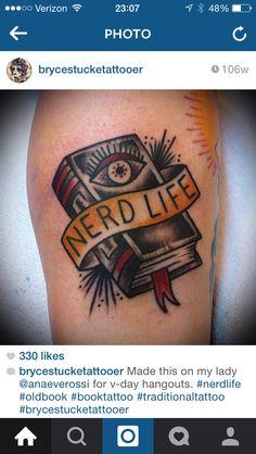Sweet nerd tattoo
