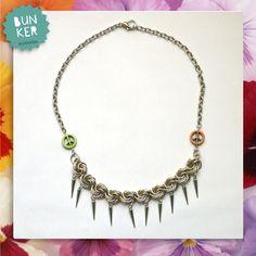 Coleccion Love Me <3 Collar paz <3 <3 Peace Necklace <3