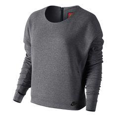 Blusão Nike Tech Fleece Crew Feminina | Nike