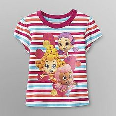 Nick Jr. Bubble Guppies Toddler Girl's Graphic T-Shirt - Baby - Baby & Toddler Clothing - Character Apparel