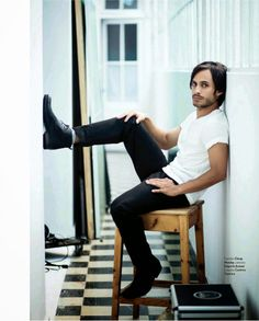 Gael Garcia Bernal Covers Icon Magazine  #LatinoHeritageLA