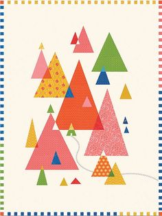 Little Cabin Quilt Pattern by Lily Ashbury