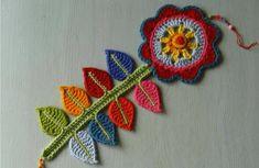 Watch The Video Splendid Crochet a Puff Flower Ideas. Phenomenal Crochet a Puff Flower Ideas. Marque-pages Au Crochet, Crochet Motifs, Crochet Amigurumi, Crochet Flower Patterns, Crochet Home, Love Crochet, Crochet Crafts, Yarn Crafts, Crochet Flowers