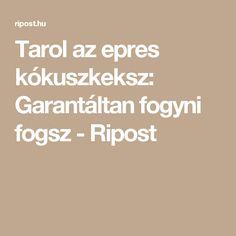 Tarol az epres kókuszkeksz: Garantáltan fogyni fogsz - Ripost
