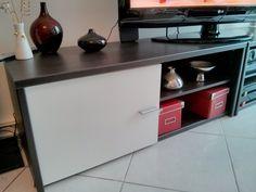 ###VENDU### Prix 80€ - Lot 2x meubles bas Fly - L: 216cm / H: 42cm / P: 42cm - Achetée 150€