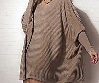 Full and Fabulous: 14 Plus Size Sweaters & Knit Cardigan Pattern Ideas | AllFreeKnitting.com