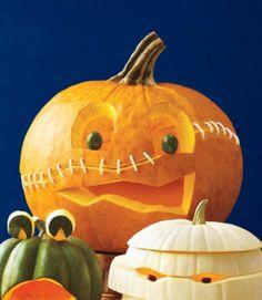 halloween kürbis schnitzvorlageböse kürbislaterne basteln vorlagen