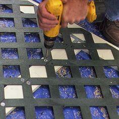 How To Install Porch Lattice