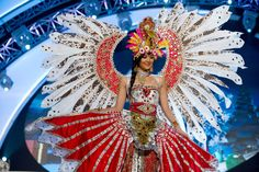 Miss Indonesia — Most Spectacular Use of Bird Imagery   36 Most Amazingly Elaborate Miss Universe Costumes