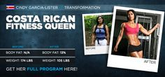 Bodybuilding.com - International Transformation Of The Month: Cindy Garcia-Lister
