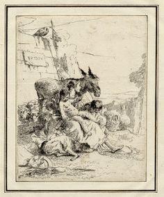Les Caprices de Tiepolo 1740