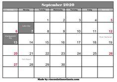 Free Printable 2020 Monthly Calendar with Holidays . Free Printable 2020 Monthly Calendar with Holidays. Countdown Calendar, Holiday Calendar, Monthly Calendar Template, Printable Calendar Template, Print Calendar, Calendar Pages, Calendar Ideas, Online Calendar, Calendar 2020
