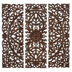 Toscana Wall Decor (Set of 3) - Turkish Bazaar on Joss & Main - This would be a beautiful focal point for the living room!