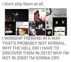 """Frerard"" by electricbalancekilljoy ❤ liked on Polyvore featuring art"