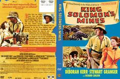 KING SOLOMON'S MINES (1950) - DVD cover art.