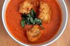 Nordstrom Cafe's Tomato Basil Soup | The Zucchini Diaries
