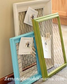 chicken wire frame! too bad the link doesn't work!