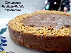 Thermomix No Bake Nutella Cheesecake