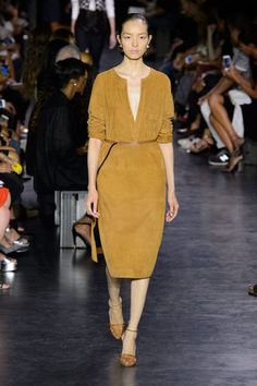 Altuzarra Spring 2015 Source: IMAXTREE - not crazy about the color