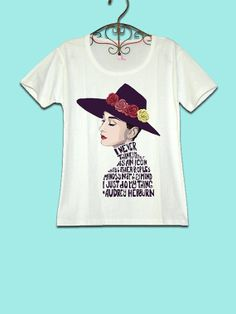 3483c09c 30 OFF for 2014 CODE77585211 Audrey Hepburn Movie Tshirt by SuBox, $19.90  Marilyn Monroe And