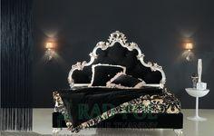Łóżko Re Pole - Sypialnie - Rad-Pol - Meble Stylowe, meble włoskie, klasyczne meble retro, sofy stylowe, narożniki