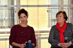 19 mars: rencontre avec karine Rougier artiste résidente et et Hélène Rouèche, présidente de Vacances Bleues.