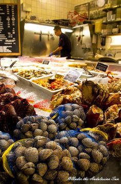 Östermalm market hall in Stockholm - so much to see (and eat!)