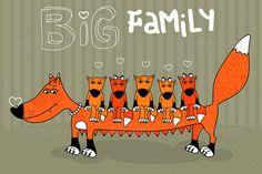 Realistic Graphic DOWNLOAD (.ai, .psd) :: http://vector-graphic.de/pinterest-itmid-1005032878i.html ... Foxes ...  animal, children, daughter, family, fox, fox cub, happiness, heart, joy, kids, love, mother, orange, parent, son  ... Realistic Photo Graphic Print Obejct Business Web Elements Illustration Design Templates ... DOWNLOAD :: http://vector-graphic.de/pinterest-itmid-1005032878i.html