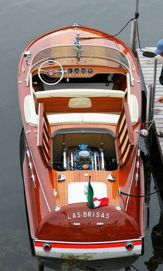 Classic Lake Boat.