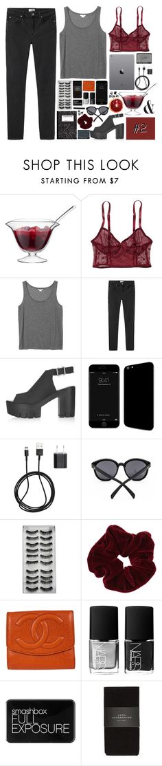 """""""ADDY'S 12 SETS OF CHRISTMAS // SET #2"""" by ritaflagy ❤ liked on Polyvore featuring moda, LSA International, American Eagle Outfitters, Monki, Acne Studios, Topshop, PhunkeeTree, NARS Cosmetics, Miss Selfridge y Chanel"""