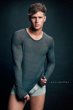 Sam (Samuel) Kneen - Male Fitness Underwear Model and Mr Gay UK Cardiff - Paul Reiffer, Professional London Photographer