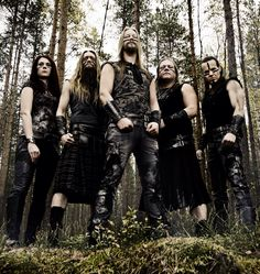 "The melodic folk metal band, Ensiferum, has announced a European tour, called the ""Return of the One Man Army European Tour,"" for April. Viking Metal, Metal Bands, Rock Bands, Fleshgod Apocalypse, Children Of Bodom, Metal Albums, European Tour, Thrash Metal, Metalhead"