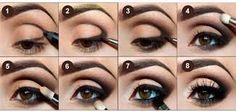 Maquillaje para ojos #makeup #makeover #ideas #tips #shadows #shadow #eye #tutorial #maquillar