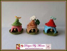 Crochet Gnome Home Pattern Unique Miniature Fairy House