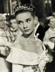 Audrey as Princess Ann in Roman Holiday. Literally the prettiest and most talented actress ever. :) She's my idol and also someone who inspires me. - Deb Zerr - Google+