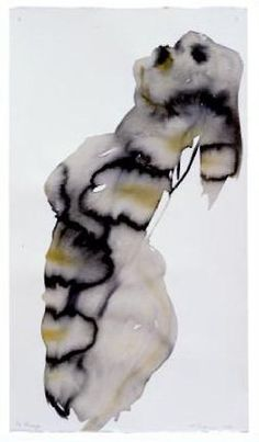From CINDY BAKKER elemental styling,   marlene dumas painting
