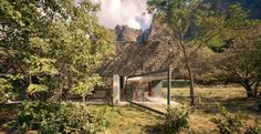"""Completed in 2014 in Tepoztlán, Mexico. Images by Yoshihiro Koitani. """"Casa Meztitla is an intervention of a natural scenario. It showcases the luxurious value of leisure, the tropical weather, the intense sunlight, the..."""