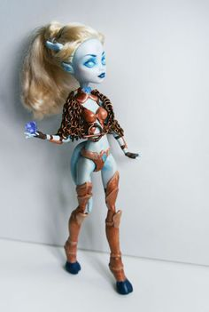 Custom Draenei Monster High Doll Repaint | eBay