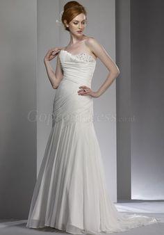 Elegant Chiffon Wedding Dress