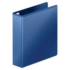 "Mead 2 3 Ring Binder, 8.5"" x 11"" - Navy (Blue)"