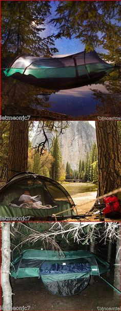 Hammocks 159030: Tree Tent Tents For Backpacking Hammock Camping One Person Sky Bed Hanging House -> BUY IT NOW ONLY: $258.95 on eBay!