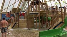 Nieuw | Water Playhouse Center Parcs Port Zélande