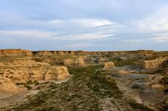 One of the many geological formations found in the Smoky Hill River valley in western Kansas.