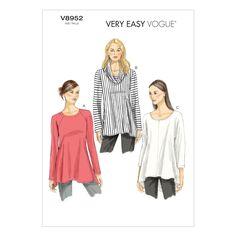 Mccall Pattern V8952 Xs-S-M -Vogue Pattern