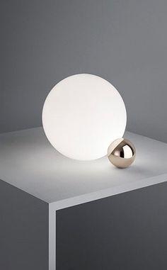 — Michael Anastassiades for Flos | Copycat sphere table lamp