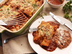 Easy Pressure Cooker Chicken Enchiladas Recipe