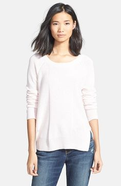 Hinge+Rib+Back+Sweater+available+at+#Nordstrom